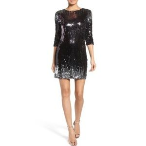 BB Dakota Elise Ombre Sequin Bodycon Dress